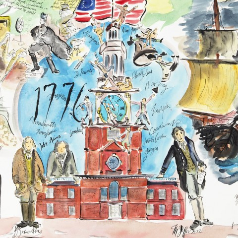 The american revolutionary war - Detail